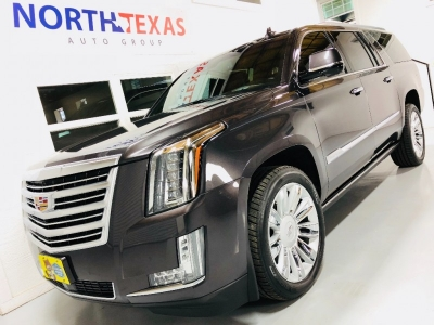 2015 CADILLAC ESCALADE ESV 4WD PLATINUM FULLY LOADED