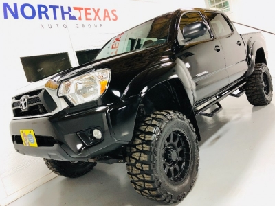 2012 TOYOTA TACOMA 4WD LIFTED SUPER CLEAN
