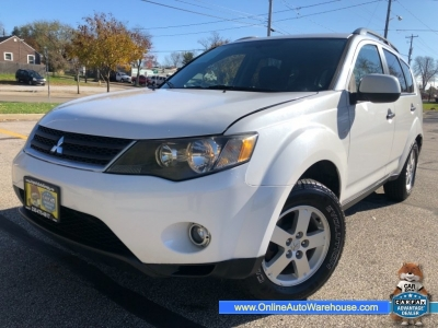 2007 Mitsubishi Outlander AWD LOADED SUNROOF DVD WE FINANCE