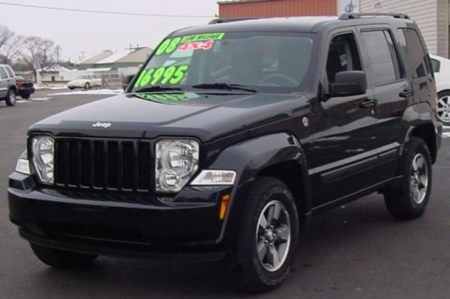 Jeep Liberty 2009 Interior. Jeep Liberty 2008 Black
