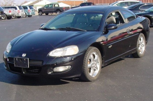 2002 Dodge Stratus 2dr Cpe R/T ** SHARP BLACK 5-SPEED MANAUL W/ LEATHER & MOONROOF!