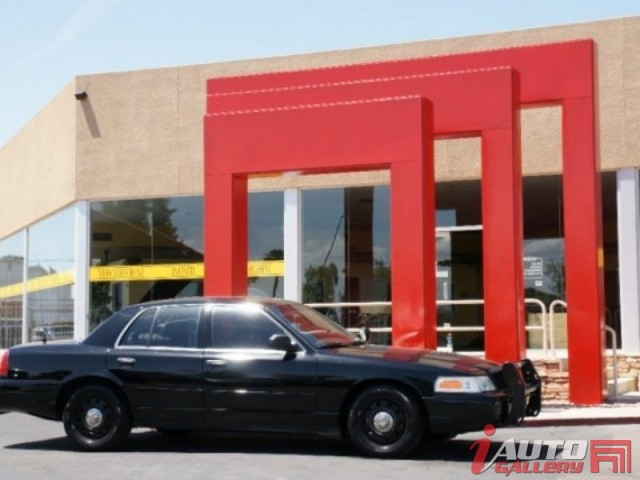 2006 FORD CROWN VIC POLICE INTERCEPTER