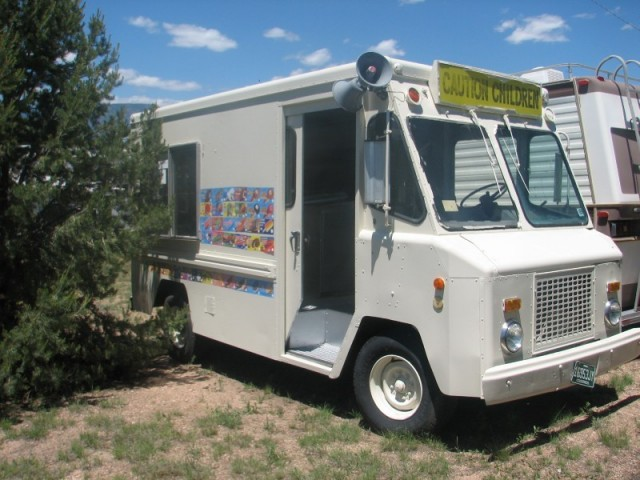 1974 Chevrolet step van IceCream Truck 74 chevy