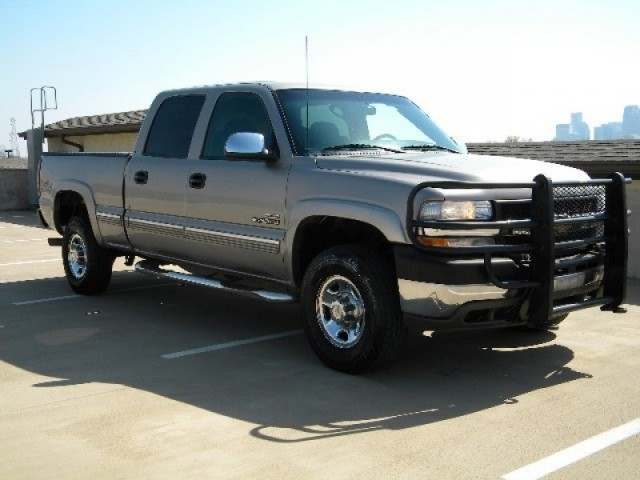 used 2002 chevrolet silverado 2500hd 1 owner crew cab 4x4. Black Bedroom Furniture Sets. Home Design Ideas