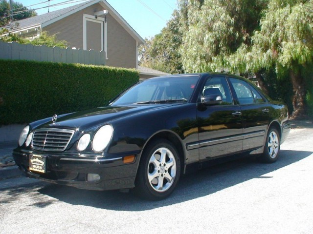 2002 Mercedes-benz E-class,low