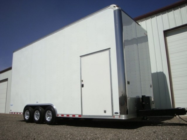 Clean 24ft Pace Stacker w/ Lift Toy Hauler Race Trailer