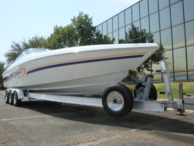 Super Clean Baja 342 Boss Twin Mag HOs 850HP Air Conditioning
