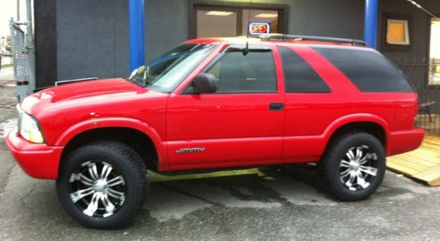 2005 CHEVROLET JIMMY GMC BLAZER FOR SALE SURREY LANGLEY NEW RIMS & TIRES SUV 4X4