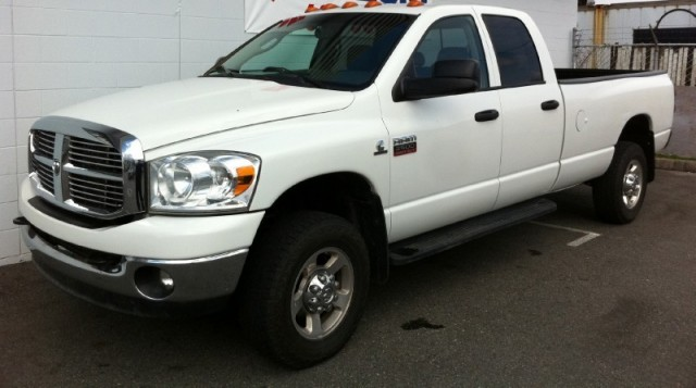 2008 Dodge Ram 2500 SLT LONG BOX 4X4 CUMMINS DIESEL QUAD CAB TRUCK FOR SALE LANGLEY SURREY