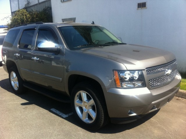 2008 Chevrolet Tahoe LTZ FOR SALE LANGLEY SURREY KELOWNA WITH NAVIGATION ROOF BLACK LEATHER