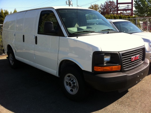 2009 GMC Savana Express 2500 HD LANGLEY SURREY Cargo Van for sale