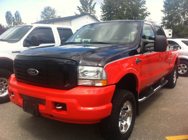 2004 FORD F250 HARLEY DAVIDSON DIESEL SURREY VANCOUVER LANGLEY 4X4 RARE COLOR NUMBERED TRUCK