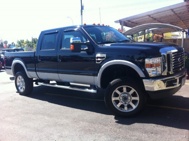 2008 Ford F-350 SURREY VANCOUVER KELOWNA LANGLEY Super Duty LARIAT DIESEL 4X4 THE NICEST AND CLEANE