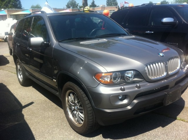 2006 BMW X5 SURREY VANCOUVER LANGLEY 4 DOOR AWD 4.4i