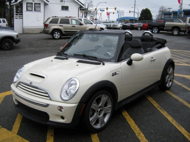 2007 MINI Cooper SURREY LANGLEY VANCOUVER Convertible S LIKE NEW