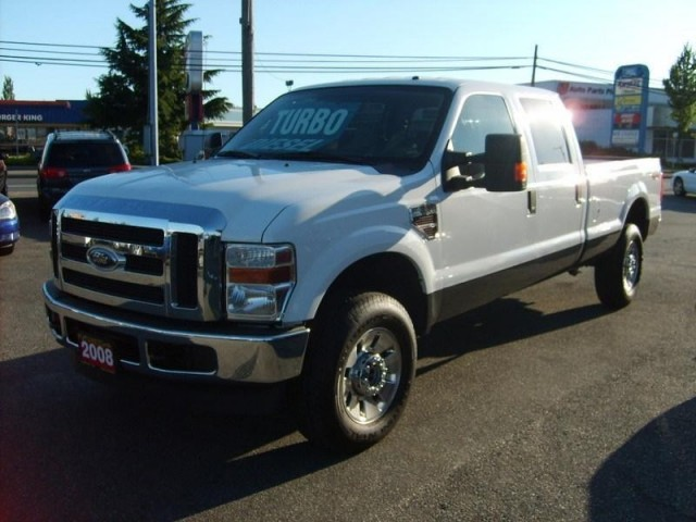 2008 FORD F350 LONG BOX 4X4 DIESEL CREW CAB LOTS OF TRUCKS