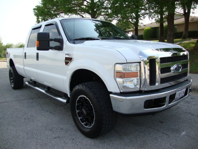 2008 Ford F350 4x4 Crew Cab Diesel Long Bed