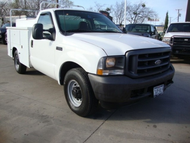 2003 FORD F-250 XL UTILITY TOOL BOX GAS