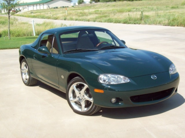 2001 MAZDA MX-5 MIATA - BRG SE, AS NEW!, 117 MILES, HARD TOP, ABS