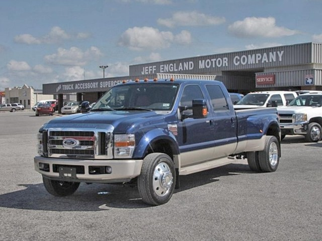 08 Ford F450 4WD King Ranch Crew Cab - Nery Nice, 79 K