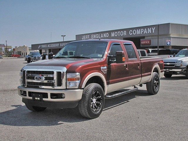 08 Ford F250 4x4 King Ranch Crew, Texas One-Owner