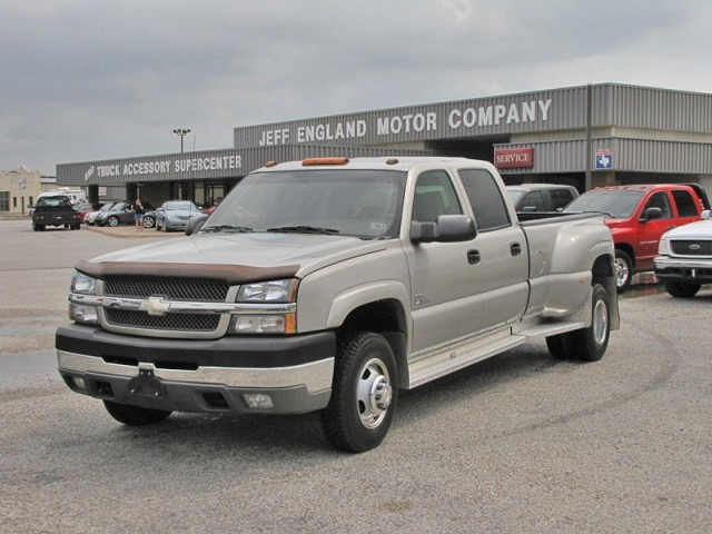 03 Chevy 3500HD Crew Cab, DuraMax, 1-owner, 5th Wheel, 86k Mi.