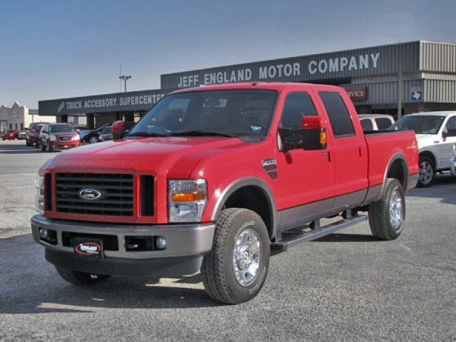 09 Ford F250 4x4 Crew - FX4 Luxury, Navigation & Lots More