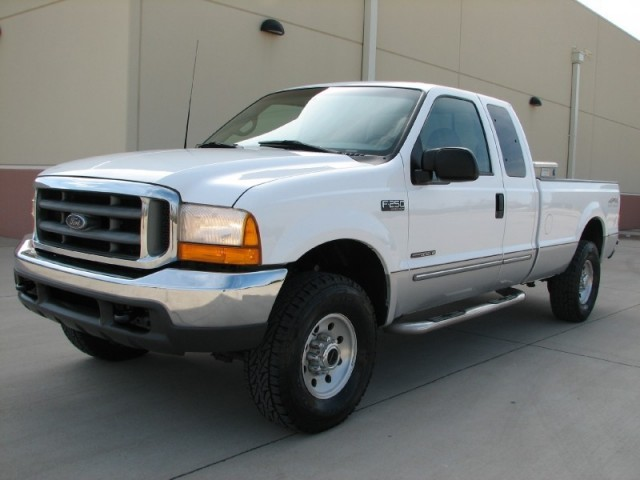 1999 FORD F-250 SUPER DUTY EXTENDED CAB, 7.3 POWERSTROKE DIESEL, ONLY 103K, CLEAN!