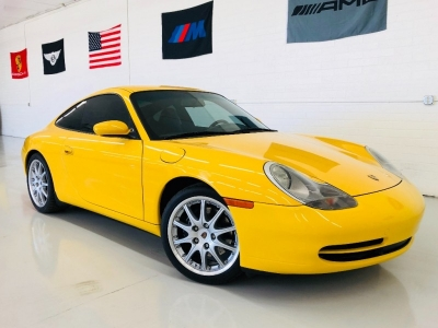 2000 Porsche 911 Carrera 2dr Carrera Cpe 6-Spd Manual BBS WHEELS