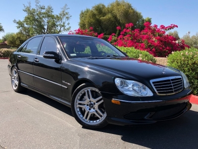 2006 Mercedes-Benz S55 AMG Supercharged V8