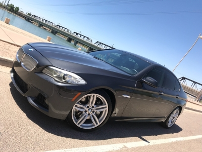 2011 BMW  550i RWD M SPORT 6 SPEED MANUAL