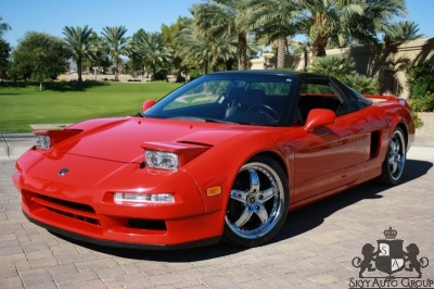 1993 Acura NSX 5-SPEED RED - RARE - LOW MILES - VERY CLEAN