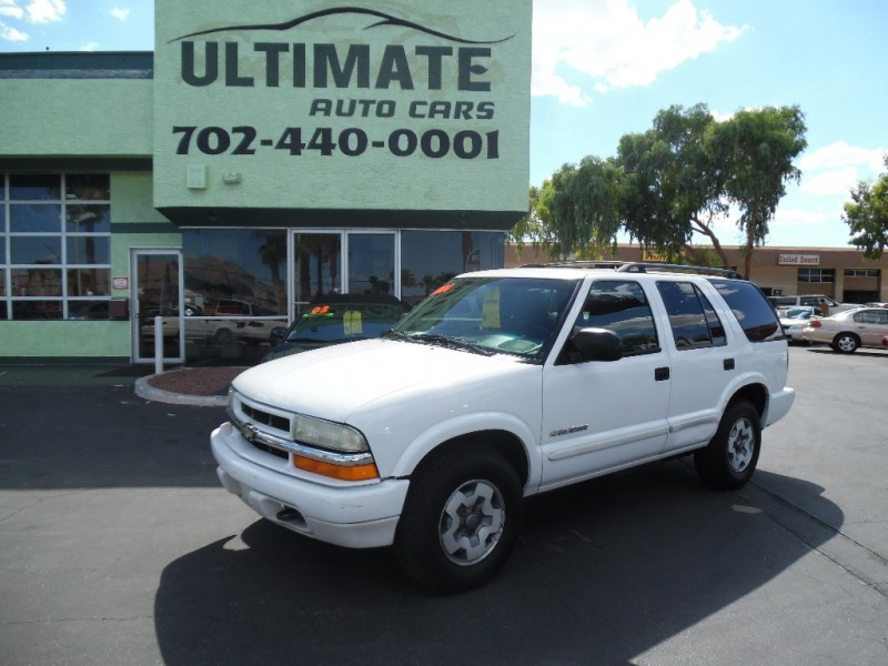 Used Cars in Las Vegas 2004 Chevrolet Blazer
