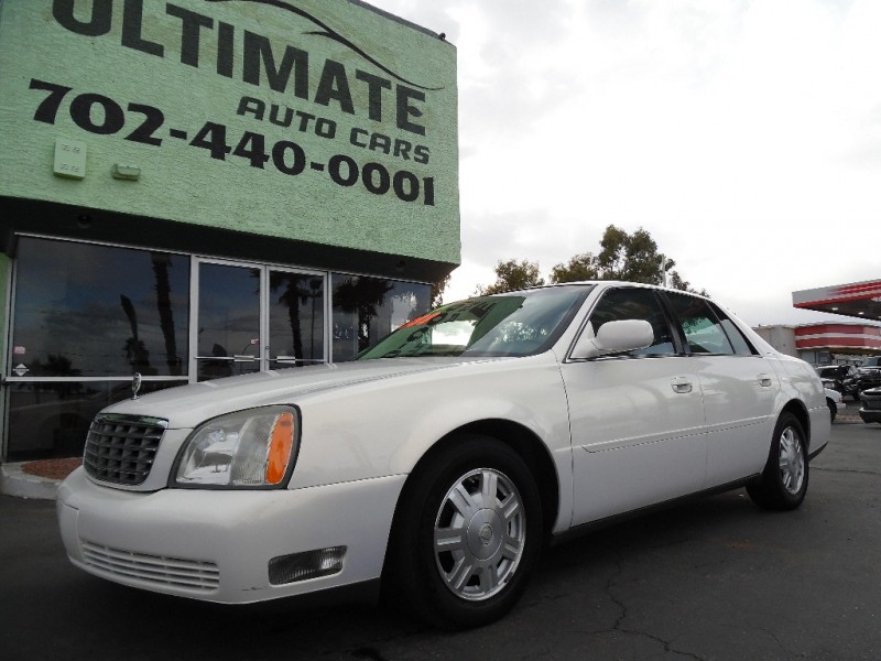 Used Cars in Las Vegas 2004 Cadillac DeVille