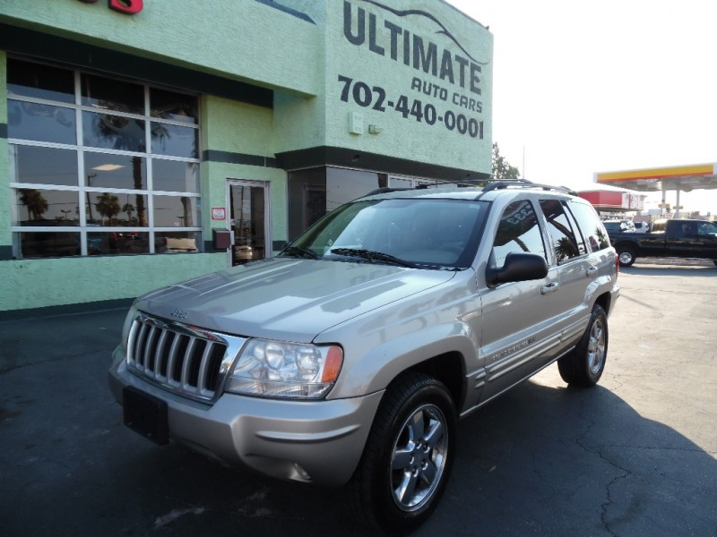 Used Cars in Las Vegas 2004 Jeep Grand Cherokee