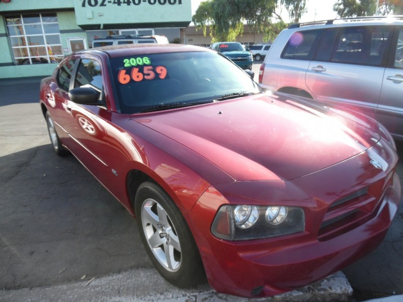 Used Cars in Las Vegas 2006 Dodge Charger