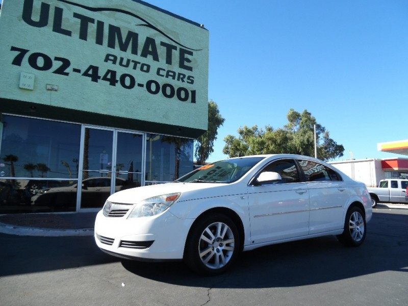 Used Cars in Las Vegas 2008 Saturn Aura