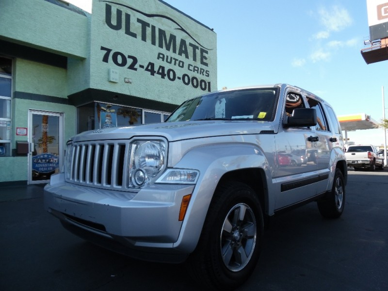 Used Cars in Las Vegas 2008 Jeep Liberty