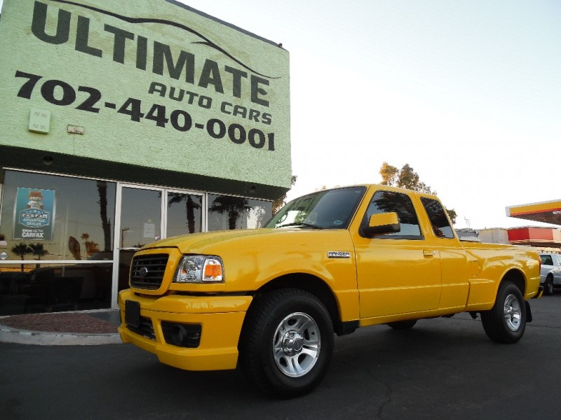 Used Cars in Las Vegas 2007 Ford Ranger