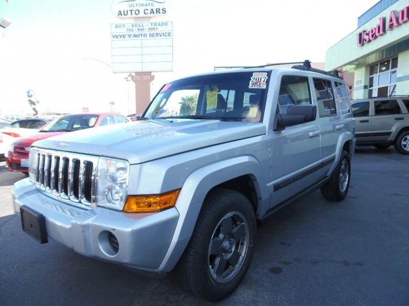 Used Cars in Las Vegas 2007 Jeep Commander