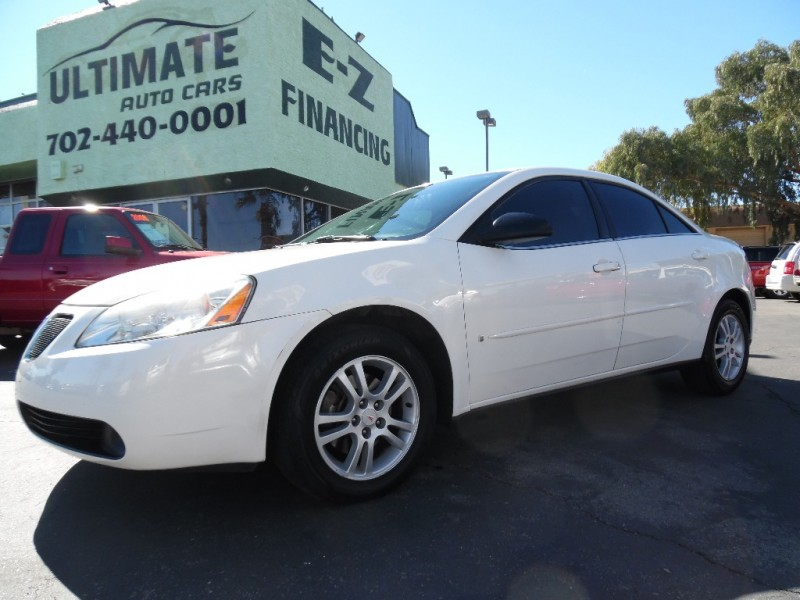Used Cars in Las Vegas 2006 Pontiac G6