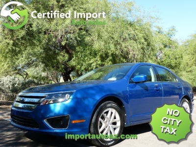 2012 Ford Fusion 4dr Sdn SEL