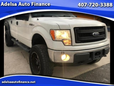 2013 Ford F-150 XLT SuperCrew 65-ft Bed 4WD