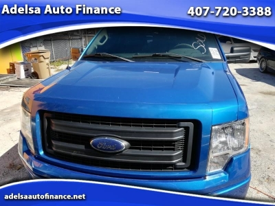 2014 Ford F-150 Lariat SuperCab 65-ft Bed 2WD