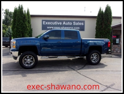 2015 Chevrolet Silverado 1500 4WD Crew Cab LT SCA APEX Performance Package
