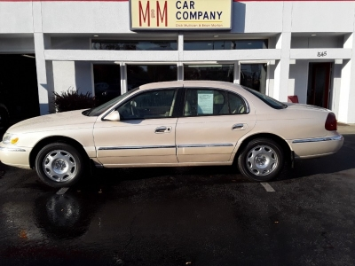 1999 Lincoln Continental 4dr Sdn