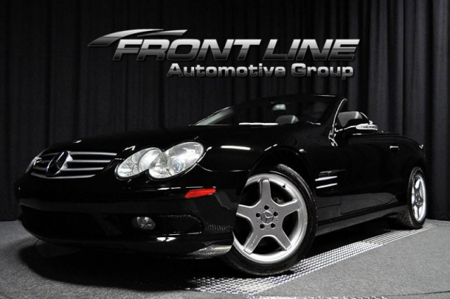 2003 Mercedes-Benz SL500 Roadster Hard Top Convertible