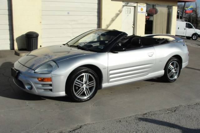 2003 Mitsubishi Eclipse Spyder Gts Convertible In House Financing
