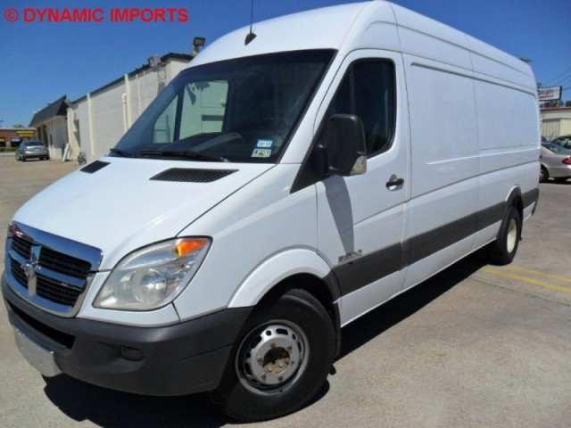 "2007 Dodge Sprinter 3500 170"" WB - DIESEL CUSTOM WORK VAN"