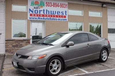 2007 Honda Civic Cpe 2dr MT LX